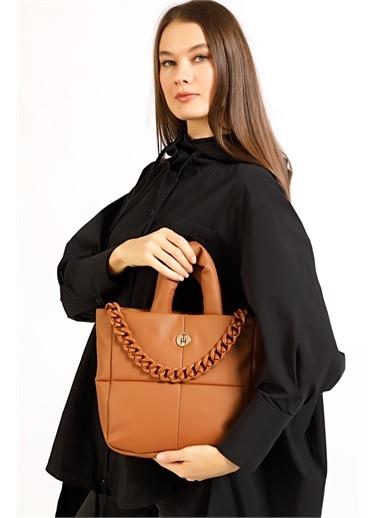 TH Bags Messenger / Askılı Çanta Taba